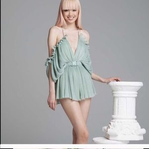 Alice mccall at first sight mint romper